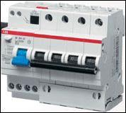 Дифференциальный автомат 6/10А 30мА (ABB) .
