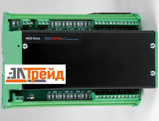 TecSystem MOD RL -4A MULTIRELAYS EXTERNAL MODULE FOR NT935